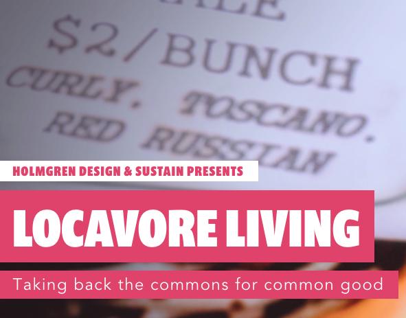 Locavore Living @ SLF