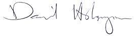 David Holmgren Signature